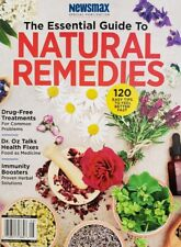 Newsmax The Essential Guide to Natural Remedies 2019 Dr Oz FREE SHIPPING CB