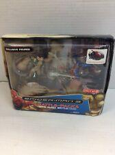 Spiderman 3 Battlepacks Sand Blast Battle Target Exclusive Hasbro 2007 Rare New