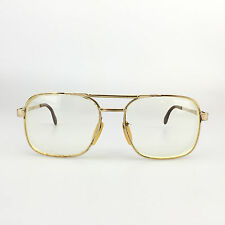 Zeiss West Germany GEP Eyeglasses Mod. 5806 Gold Eyewear Prescription Frames