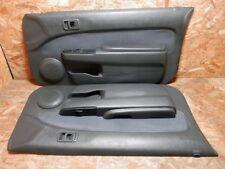 95 1999 JDM TOYOTA CYNOS EL52 EL54 PASEO 2DOOR DOOR PANEL SET FACTORY OEM.