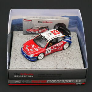 CORGI 1:43 Citroen Xsara Turbo WRC Monte Carlo Rally 2003 Diecast Car Model