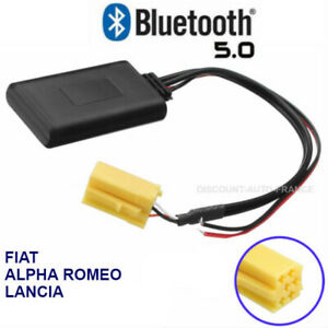 Bluetooth MP3 AUX pour FIAT 500 PANDA PUNTO STILLO BRAVO DUCATO CROMA
