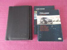 LAND ROVER FREELANDER HANDBOOK OWNERS MANUAL WALLET 2004-2006 PACK H-605