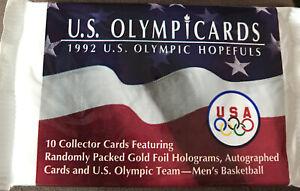 U.S.Olympic Cards  1992 Olympic Hopefuls unopened pack