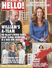 HELLO! Magazine #1657 PRINCE WILLIAM, SHIRLEY BALLAS (BRAND NEW BACK ISSUE)