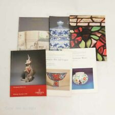 Auction Catalogs Lot of 6 Sothebys, Other Mixed Catalogs Asian Art