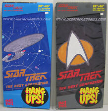 COOL SET of TWO HANG UPS Star Trek: The Next Generation by Great Scott in 1995!