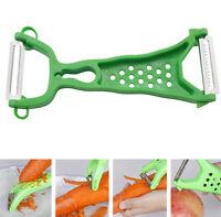 Vegetable Fruit Peeler Parer Julienne Cutter Slicer Peel Kitchen Tool Gadget FS9