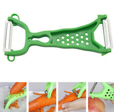Vegetable Fruit Peeler Parer Julienne Cutter Slicer Peel Kitchen Tool Gadget FS9