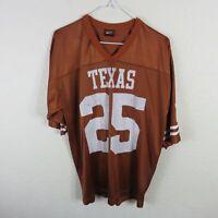 Nike Team Texas Longhorns Football Jersey #25 - Men's Medium