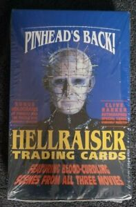 HELLRAISER TRADING CARDS Signed By Doug Bradley Pinhead NEW SEALED VERY RARE