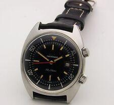 Massive 1968 Technos Sky Diver Super Compresssor Divers Watch 50mm x 42mm