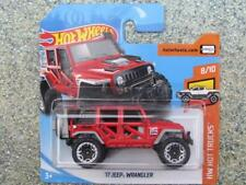 Hot Wheels 2018 #084/365 2017 JEEP WRANGLER red HW Hot Trucks New Casting