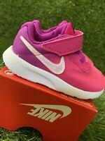 TODDLER GIRLS: Nike Tanjun Shoes, Hyper Violet/Pink  Blast - Size 5C AV8886-500