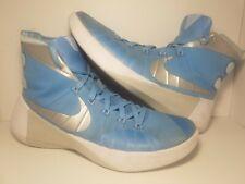 Nike Zoom Hyperdunk Mens Basketball Shoes Sz 10.5 2015 Tar Heel Blue 749645-403