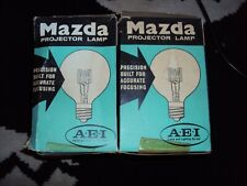 vintage mazda 500w  240v projector lamp flash floods  see photo