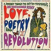 LOVE,POETRY AND REVOLUTION.BRITISH PSYCH/UNDERGROUND.1966-72.