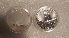 2012 Canada $5 Cougar Wild Life series 1oz.9999 Silver Mint condition in capsule