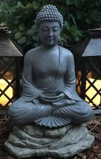 "Buddha Statue Zen Garden Patio Sculpture Lawn Yard Art Decorative Figure 12"""