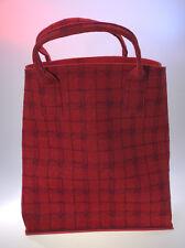 colorkitchen Aufbewahren Einkaufen Shoppen Tasche Tweed mohn-purpur Nadelfilz