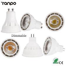 Dimmable GU10 MR16 LED Spotlights AC 220V 12W 15W COB Epistar Bulbs Ultra Bright