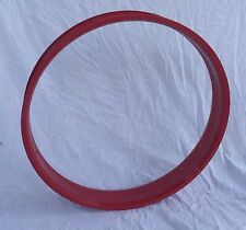 "New 26"" Fat Rim 36 holes for Bicycle Beach cruiser fit 26x3.0 ~ 4.0 tire Red"