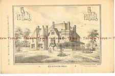 #51 1883 RICHMOND HILL by architect Arthur Hooper Dodd