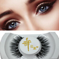 Black 3D Real Mink Soft Long Natural Thick Makeup Eye Lashes False Eyelashes Ne