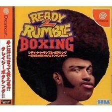 USED Ready 2 Rumble Boxing Japan Import Sega Dreamcast