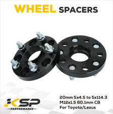 2xWheel Spacer 5x4.5(5x114.3mm) hubcentric Fit for Tacoma RAV4 GS450 ES350 IS250