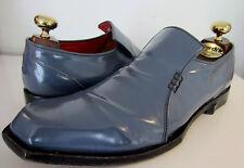 Oliver Sweeney Ocean Blue slip on leather Loafers Shoes UK 7.5 EU 41.5 US 8.5