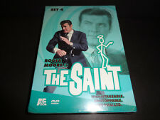 THE SAINT-SET 4-Roger Moore is Simon Templar who defends world against injustice