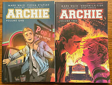 ARCHIE VOLUME 1 & 2 TPB Graphic Novel Lot Mark Waid Books Jughead Betty Veronica