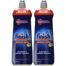 Finish Dishwasher Rinse Aid Lemon, 800 ml, Pack of 2 (Total 1600 ml)