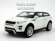 Land Rover Evoque 1/32 - 1/39 Aprox. Scale Diecast Metal Car Model - WHITE