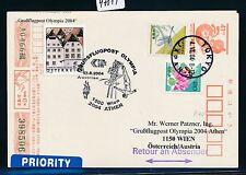 97819) AUA Olympiade So-LP Wien - Athen 13.8.2004, GA ab Japan
