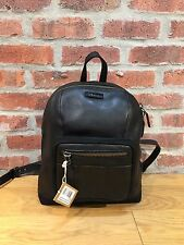 DR. MARTENS SMALL BLACK INUCK  LEATHER / HI SUEDE WP BACKPACK