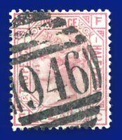 1875 SG139 2½d Rosy Mauve Plate 1 J1 FC Fine Middlesborough 946 G/FU cv£120 aupo