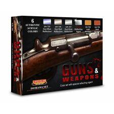 Lifecolor CS26 Guns & Weapons  6x22 ml (100ml=13,64€) Acrylfarben Waffen