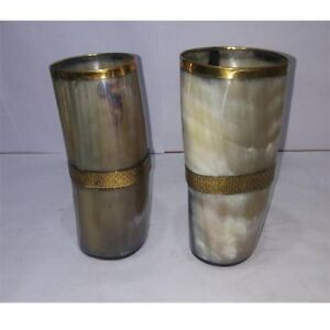 Game of Thrones Goblet Set Of 2 Pcs Beautiful Viking Drinking Horn Glass