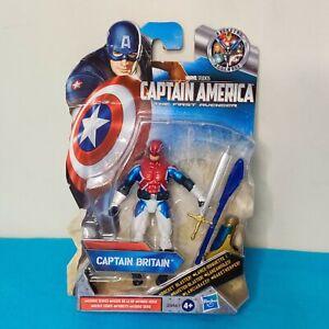 Marvel Captain America Movie Series 2 Captain Britain Hasbro Figure NEW
