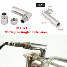 1Pcs O2 Oxygen Sensor Angled Extender Spacer 90 Degree 02 Bung Extension M18x1.5