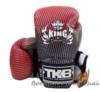 NWT TOP KING Boxing gloves Red TKBGSS 01 Super Star Air MMA K1 Muay Thai gloves