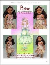 """Brise"" an Original Fashion Pattern for American Girls"