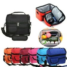Insulated Lunch Bag Cooler Boxes Thermos Tote Food Container Watertight Outdoor
