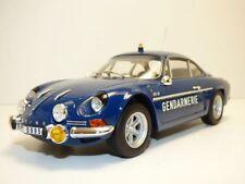 1 18 NOREV Renault Alpine A110 1600s Police 1971
