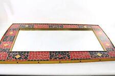 Gran edad RDA mosaikspiegel espejo mosaico culto diseño retro