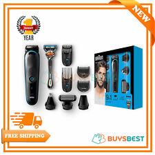 Braun Beard Trimmer Shaver & Hair Clipper 9-in-1, Body Groomer, Ear Nose MGK5080