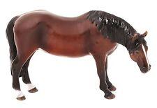 John Beswick Thoroughbred Mare Bay Horse Ceramic Figurine Ornament 10.5cm JBH42