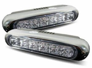 LED DRL Daytime Running Lights, Super bright high power LEDs